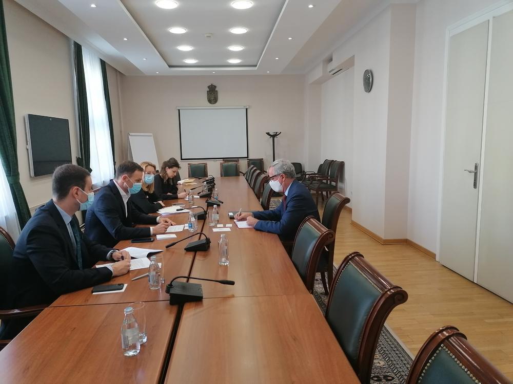 MINISTAR MALI SA AMBASADOROM ADAMOM: O ekonomskoj saradnji Srbije i Belgije i borbi sa koronom