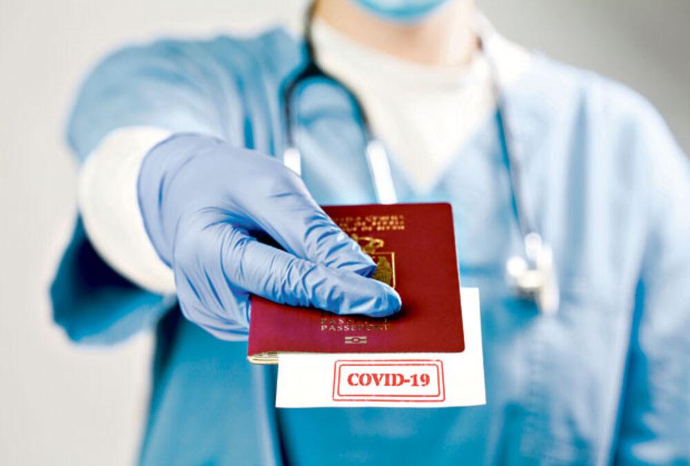 pasoš, kovid pasoš, kovid pasos
