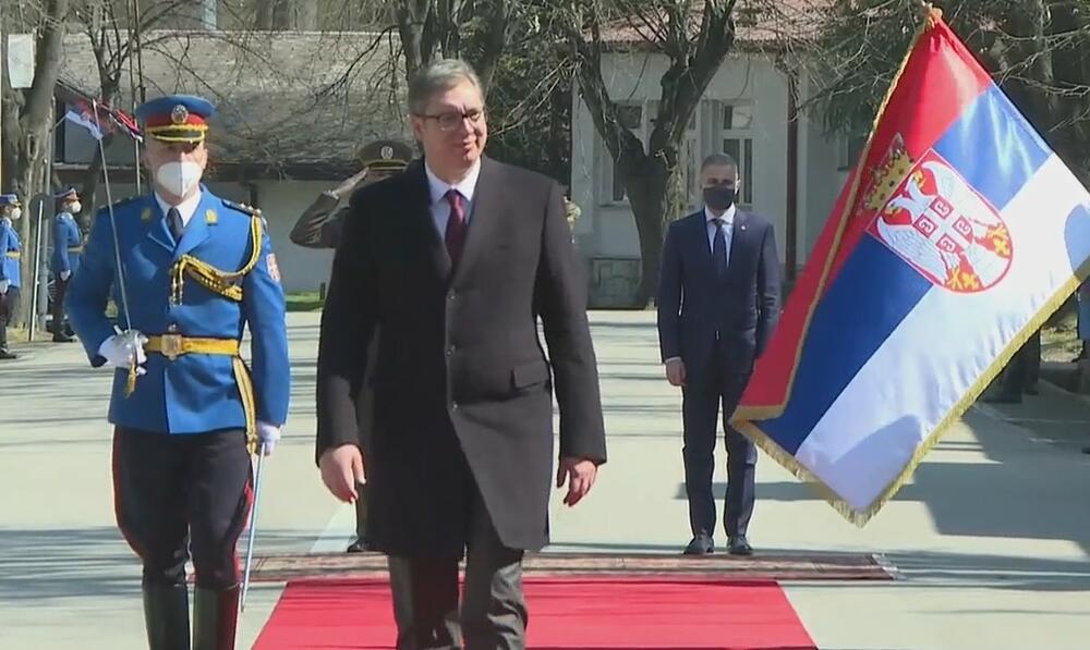 Vojska Srbije, prikaz sposobnosti, Aleksandar Vucic