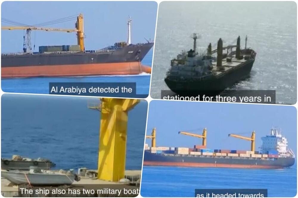 TEHERAN POTVRDIO DA JE IRANSKI TERETNI BROD NAPADNUT U CRVENOM MORU! Saudijska Arabija: 'Brod je služio za špijunažu i dostavljanje oružja jemenskim Hutima'