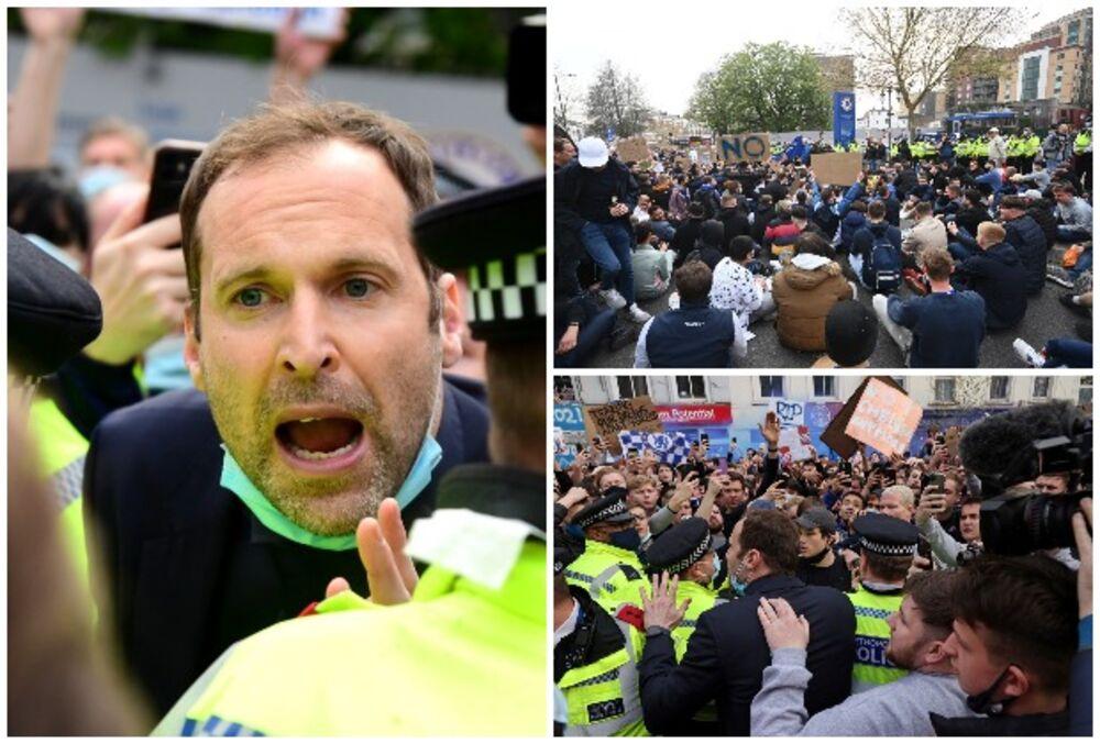 Čelsi, navijači, Petr Čeh, protesti