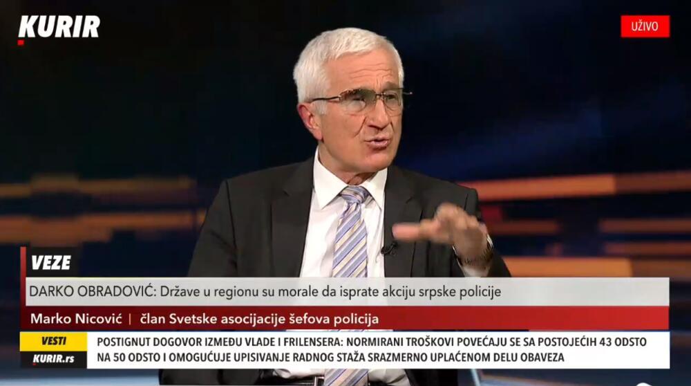 Darko Obradović, Marko Nicović, Usijanje