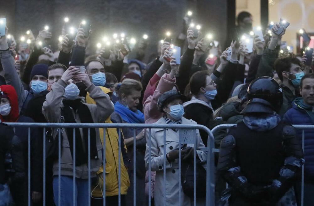 Protesti u znak podrške opozicionom lideru