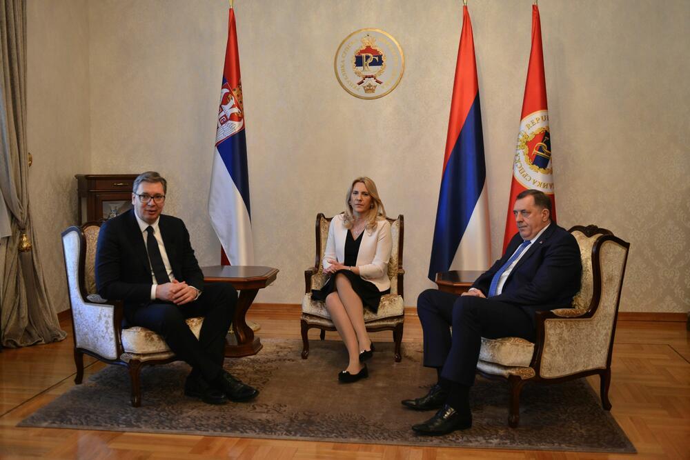 Aleksandar Vučić, Milorad Dodik, Banjaluka, poseta, ključ grada Banjaluke