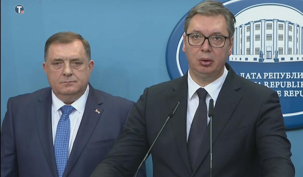Milorad Dodik, Aleksandar Vučić