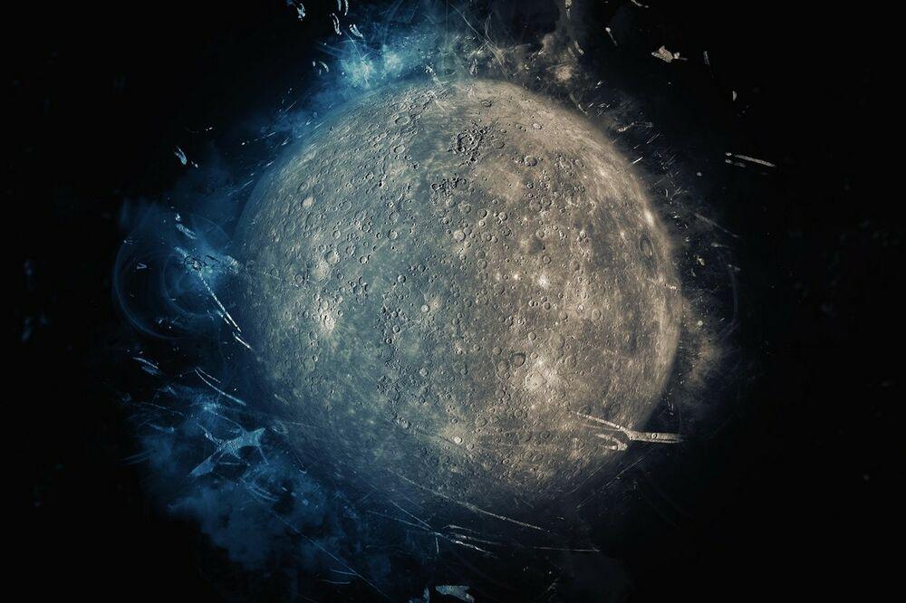 planete, Merkur