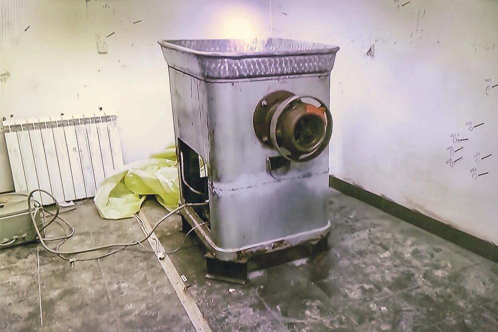 Ritopek, mašina za mlevenje mesa