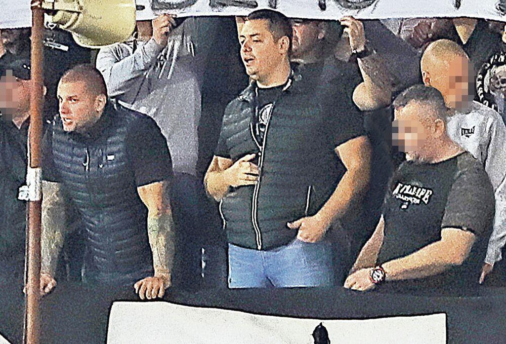 Veljko Belivuk, Velja Nevolja, Marko Miljković