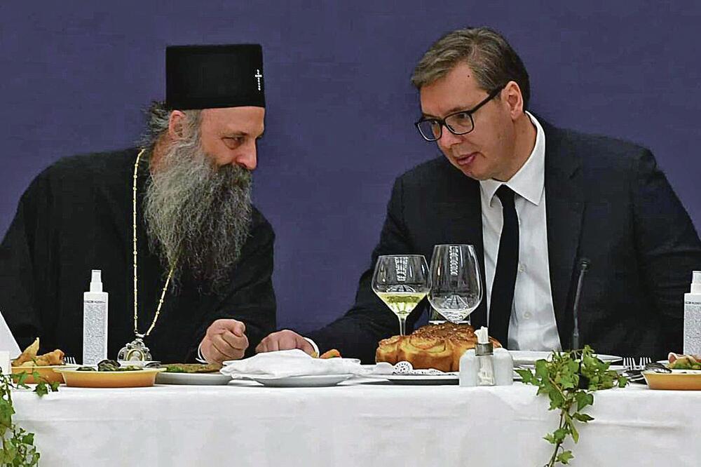 Aleksandar Vučić, Porfirije