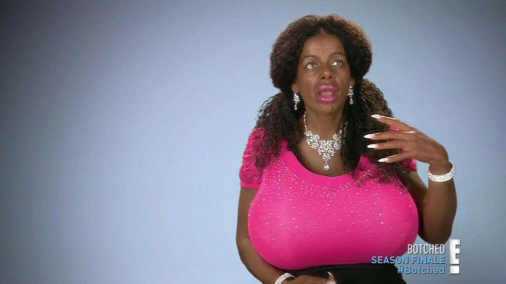 Martina Big, lažna crnkinja