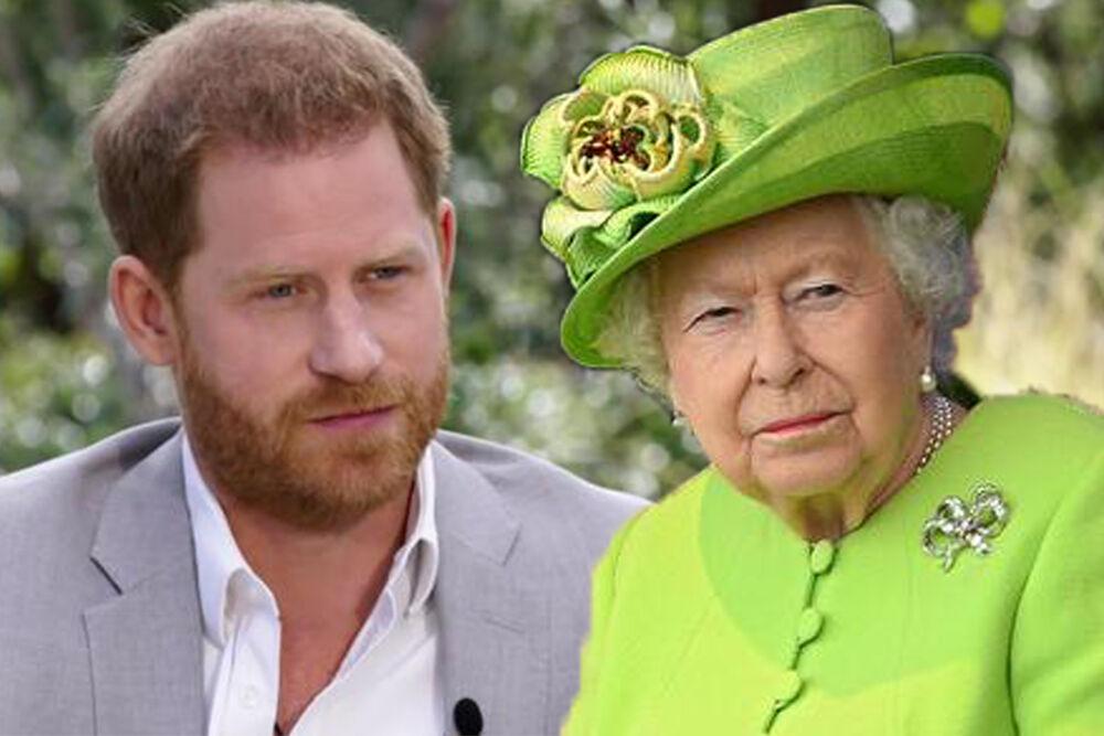Princ Hari, Kraljica Elizabeta