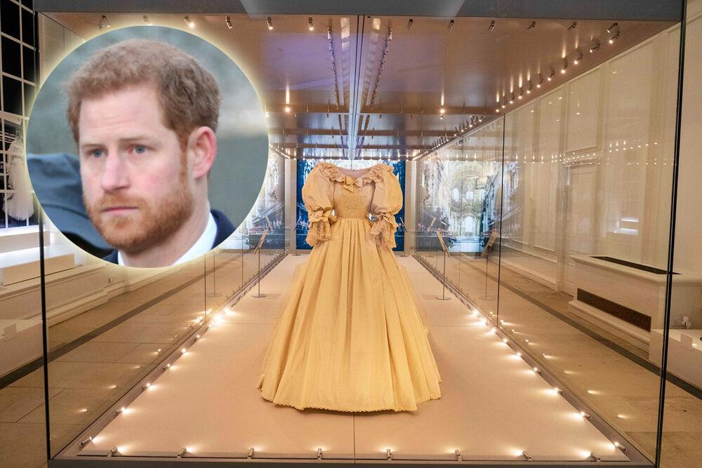 Princ Hari, haljina