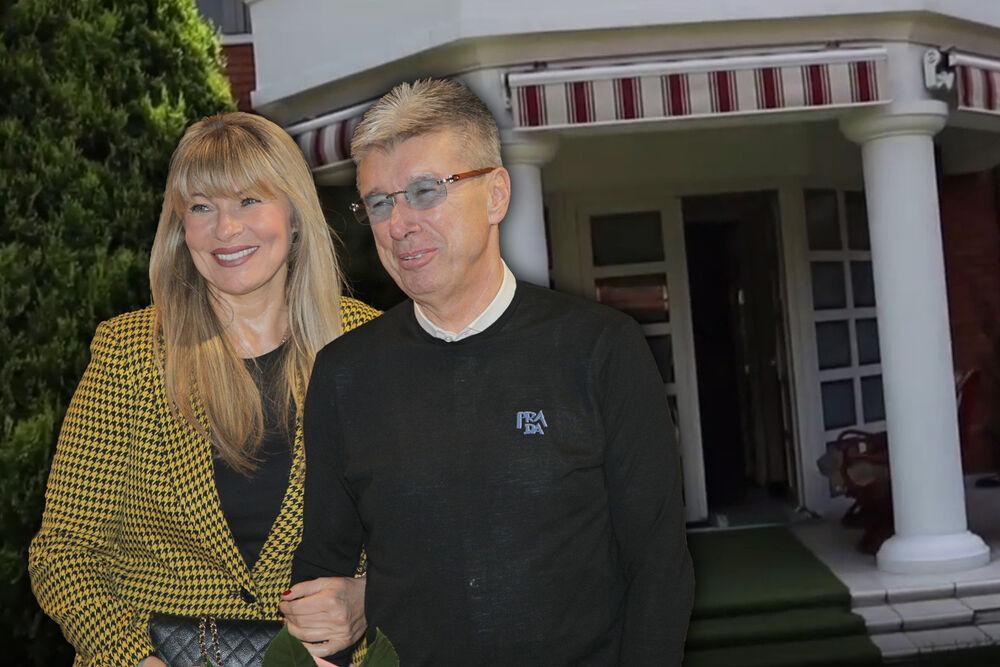 Saša Popović, Suzana Jovanović, kuća
