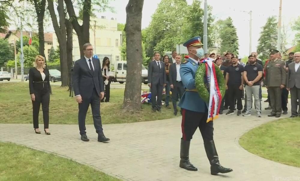 polaganje venaca, Aleksandar Vučić