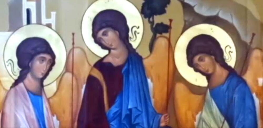 ikona, Duhovski ponedeljak, Svete Trojice