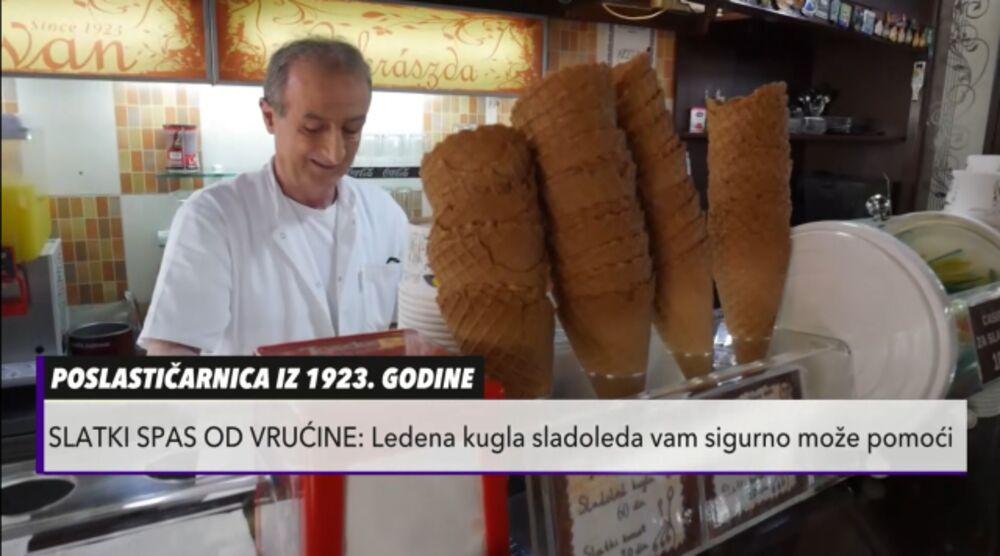 SLADOLED OD KREMPITE! Subotičanin prvi u Evropi napravio zanimljiv ukus u NAJSTARIJOJ poslastičarnici u zemlji
