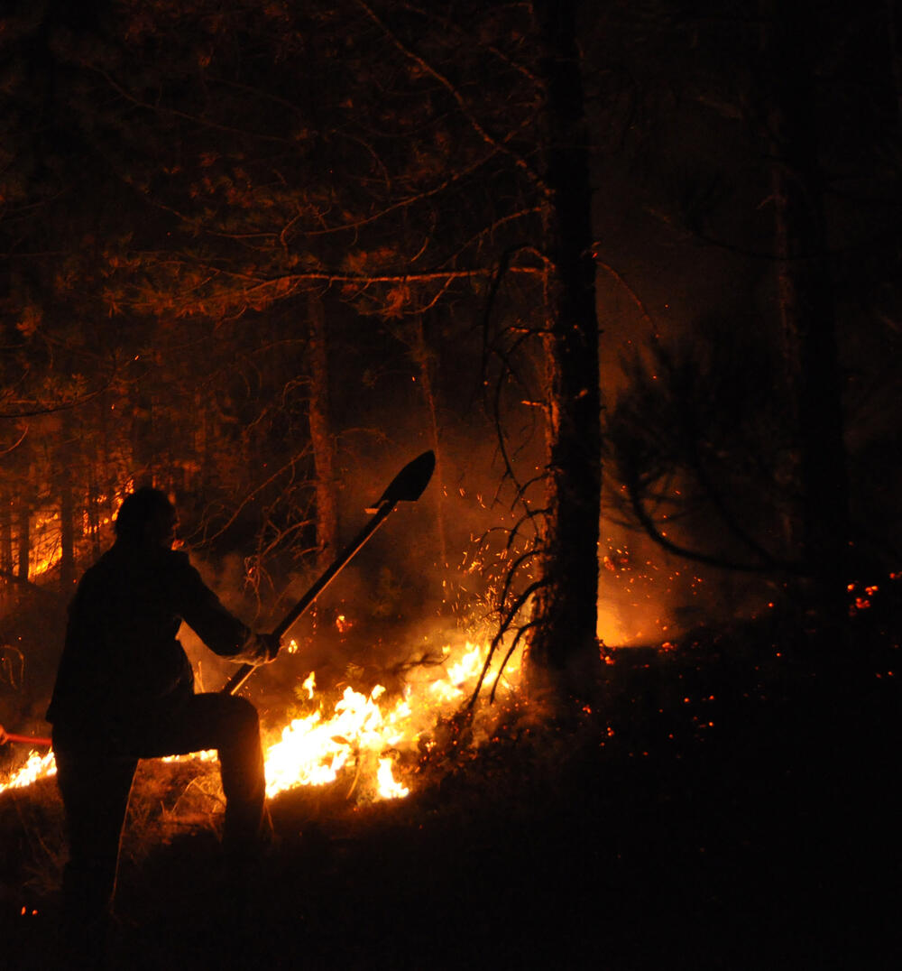Zlatibor, požar