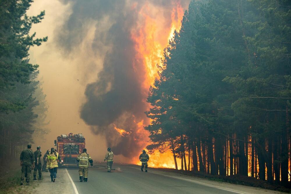 Sibir, požar, ruski vatrogasci, šumski požar, 0610915112
