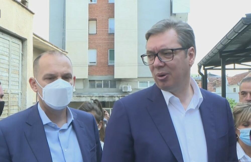 Aleksandar Vučić, Despotovac, Dom Zdravlja