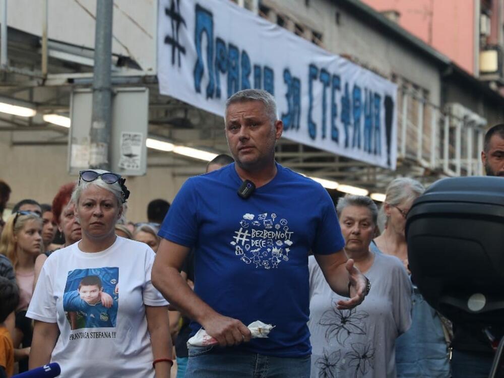 Ulica Marijane Gregoran, Karaburma, skup podrške za malog Stefana