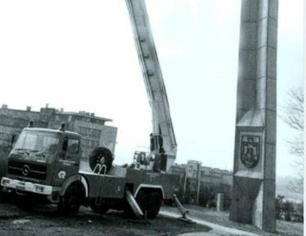 60. GODIŠNJICA PRVOG SAMITA NESVRSTANIH U BEOGRADU: Obnavlja se obelisk kod Brankovog mosta iz 1961. godine