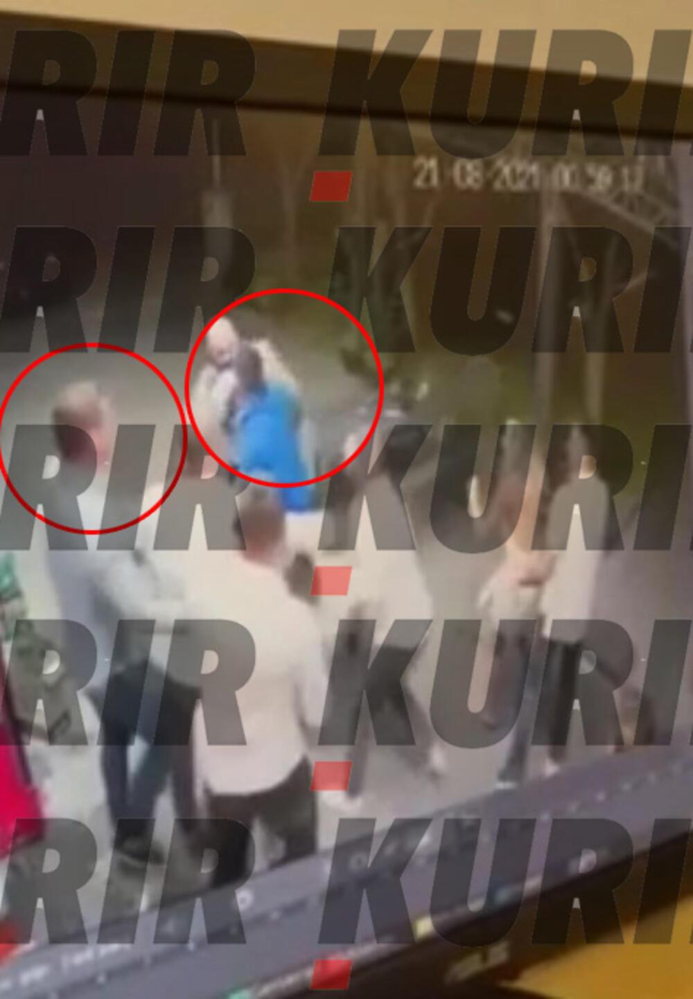 Osumnjičeni M. M. (levo u sivoj košulji) i nastradali Nebojša u plavoj dukserici