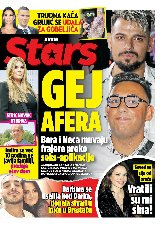 Stars Dodatak, Naslovna