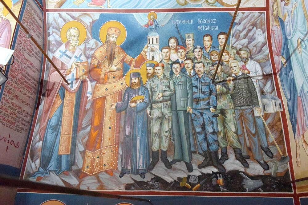 Manastir Kaona freska borcima