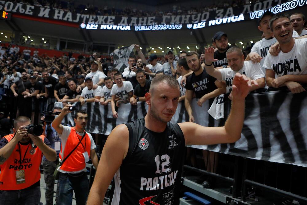 Novica Veličković, Partizan, Efes, Arena