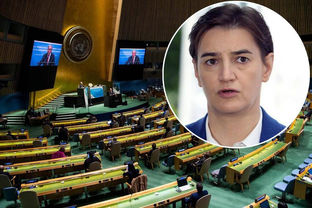 ANA BRNABIĆ U UJEDINJENIM NACIJAMA: Spirala nasilja nad Srbima na Kosovu i Metohiji je kulminirala ove nedelje