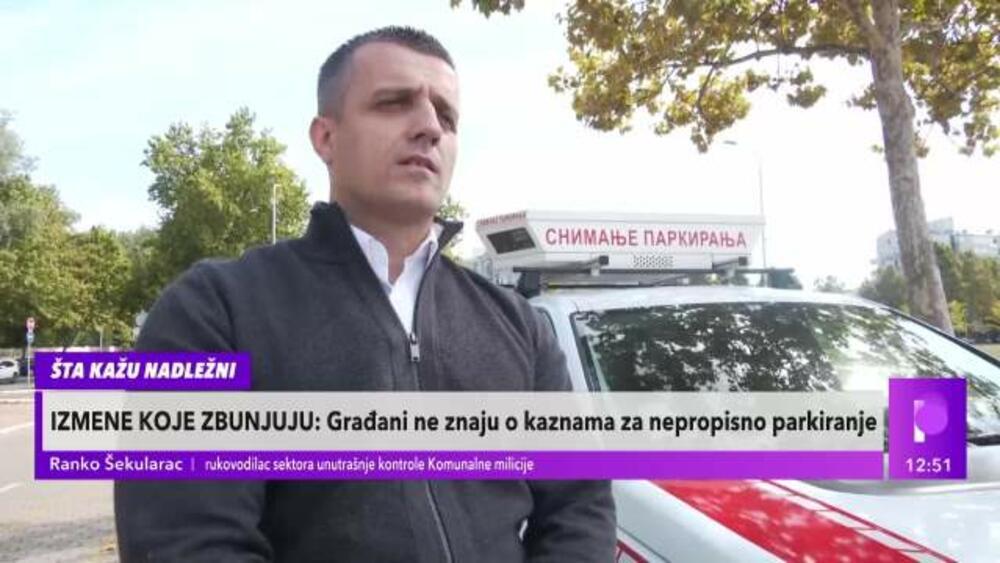 PREKRŠAJNI NALOZI: Komunalni milicajac objasnio zašto vraćaju građane sa granica zbog neplaćenih kazni za parking