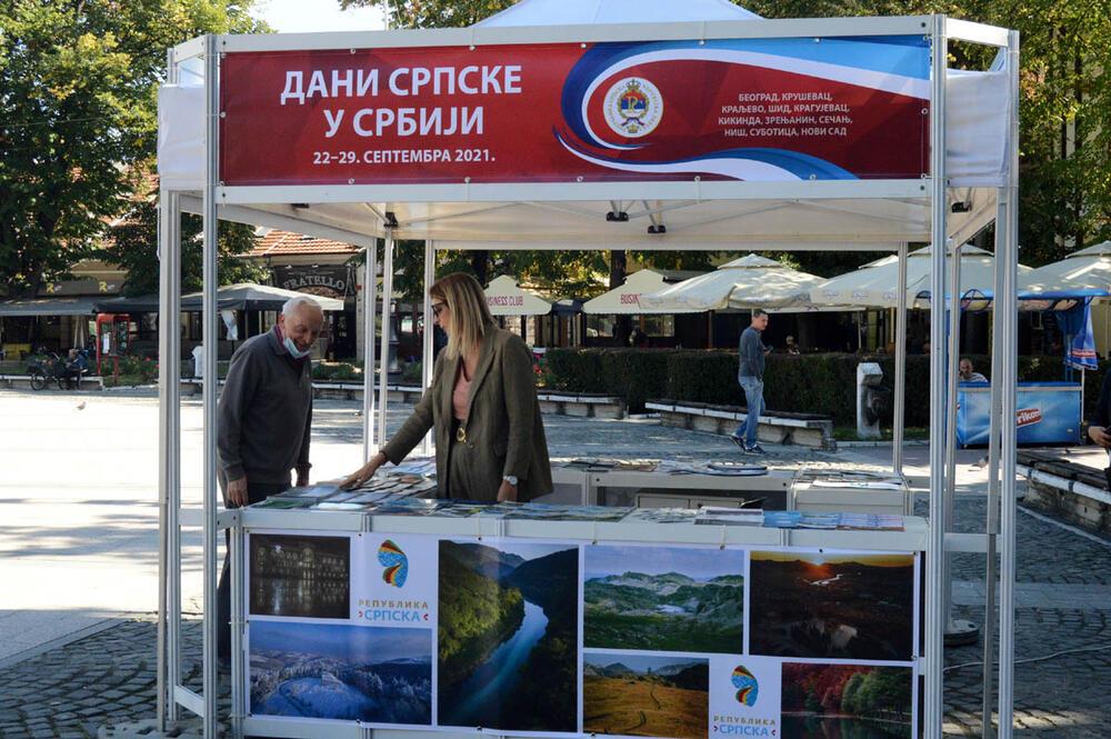 DANI SRPSKE U SRBIJI: Delegacija opštine Novo Goražde posetila Kraljevo