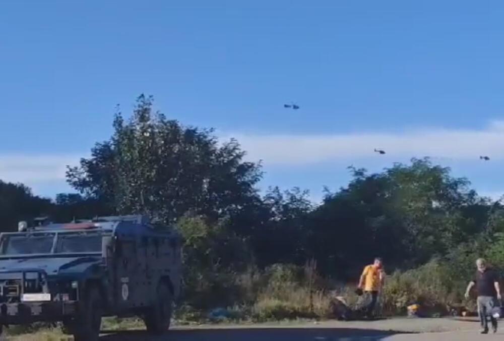 HELIKOPTERI VOJSKE SRBIJE NADLEĆU JARINJE: Pojavile se leteće topovnjače Mi-35 i erbasovi, oduševljenje među Srbima! (VIDEO)