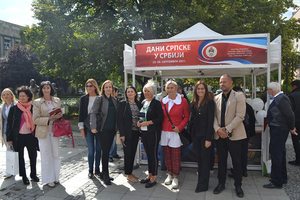 DANI SRPSKE U SRBIJI Delegacija Bijeljine u poseti Kruševcu (FOTO)