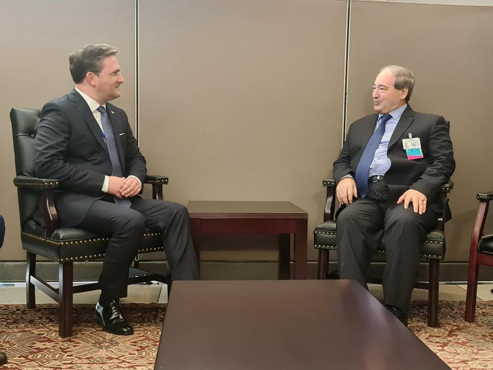 SELAKOVIĆ U NJUJORKU IMAO NIZ SASTANAKA: Ministar Srbije se sastao sa kolegama iz Sirije, Indonezije i Gane (FOTO)