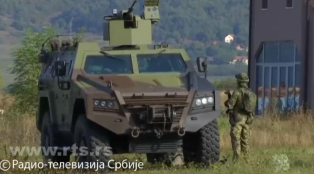 miloš, lazar, oklopna vozila, Vojska Srbije, Jarinje, ROSU