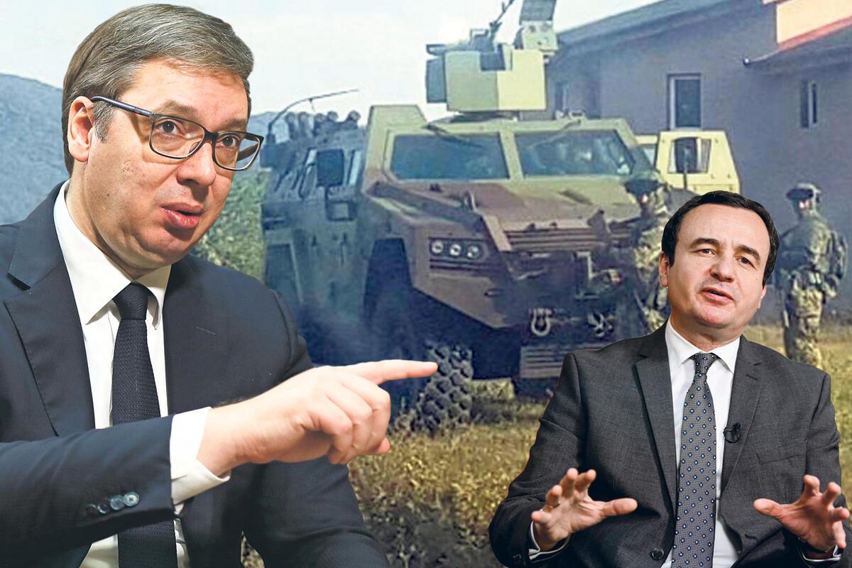 KFOR POSLAO TRUPE NA JARINJE, ALJBIN KURTI SPUŠTA LOPTU! Vučić ambasadorima Kvinte: Ne dozvoljavamo ponižavanje Srbije